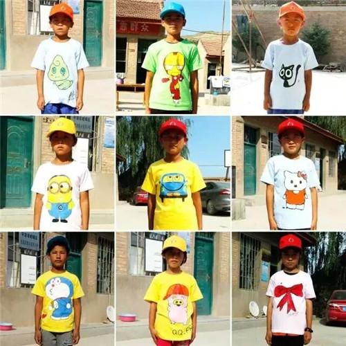手绘t恤儿童创意图案